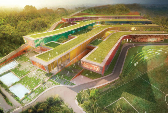 """Master Plan - CetraRuddy Selected to Design New, 2,500 Student Schools in Calicut, India for """"Inclusive Education"""""""