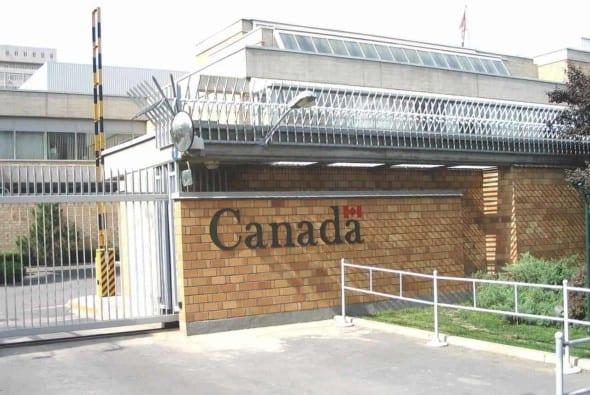Canadian embassy in Beijing