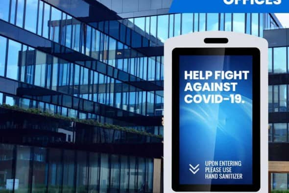 Digital Hand Sanitizer - A Revolutionary New Way to Advertise