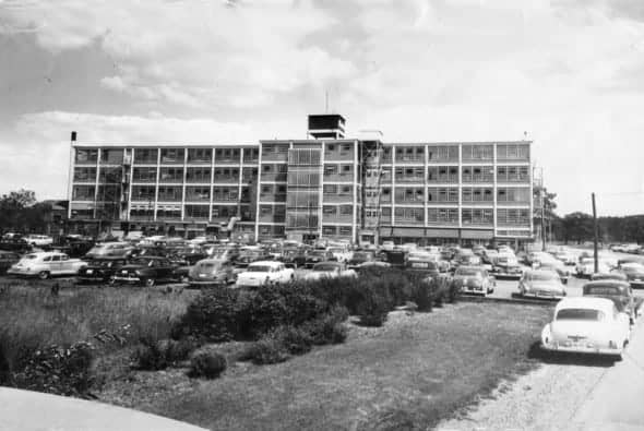 Bata shoe factory, Batawa, Ont., c. 1955