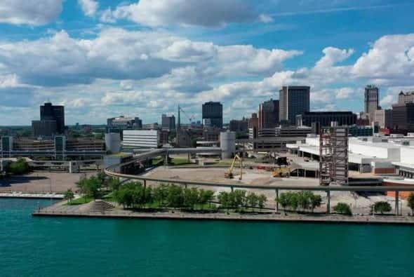 Detroit Waterfront District Design Competition