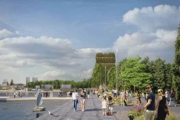 Floriade will get a 40m panoramic façade artwork