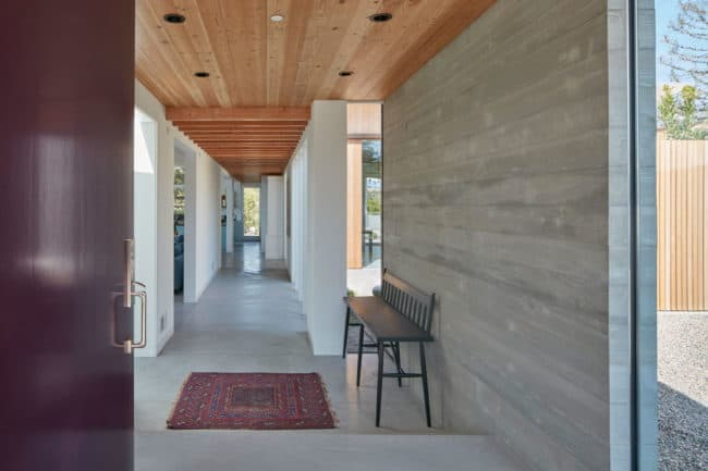 A Sustainable, Modern-Day California Ranch House by Malcolm Davis Architecture