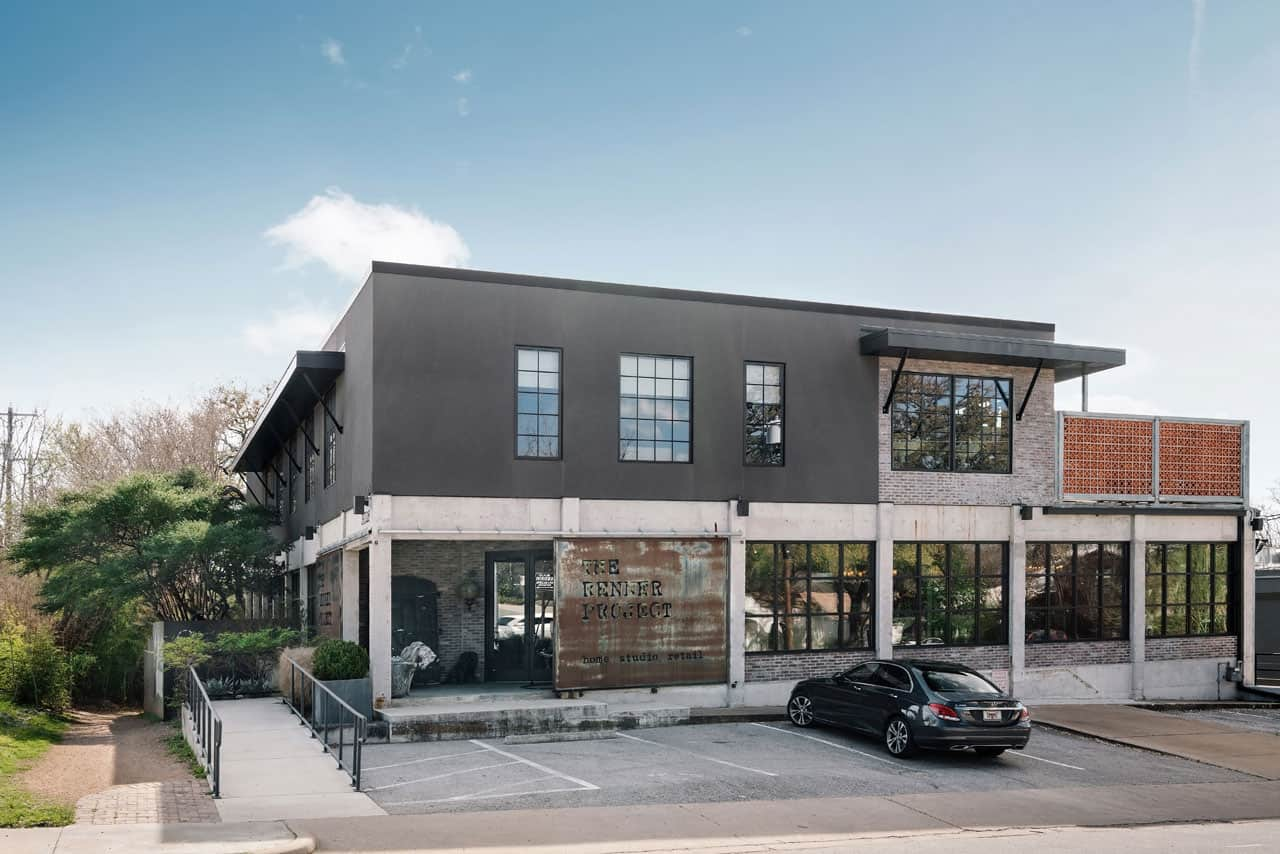 Side View - The Renner Project - an atypical home by Dick Clark + Associates