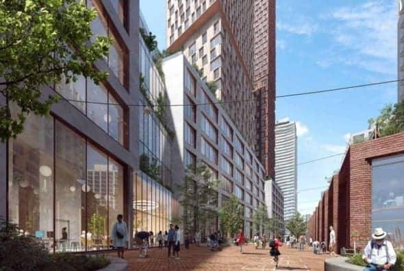 125R Mill Street development, Toronto