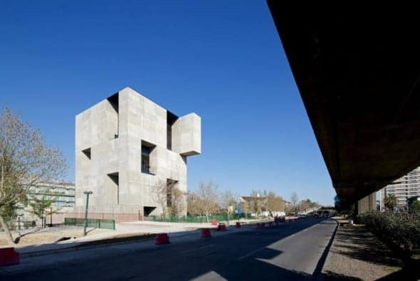 Innovation Center UC - Anacleto Angelini by Aeljandro Aravena
