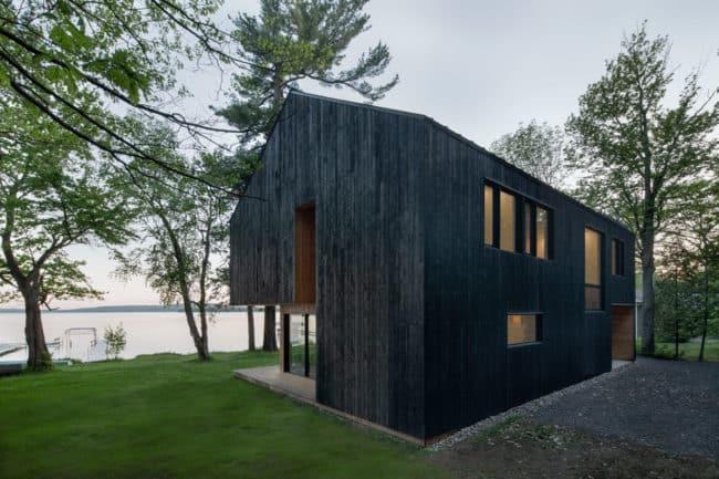 Lakeside Cabin by Atelier Schwimmer