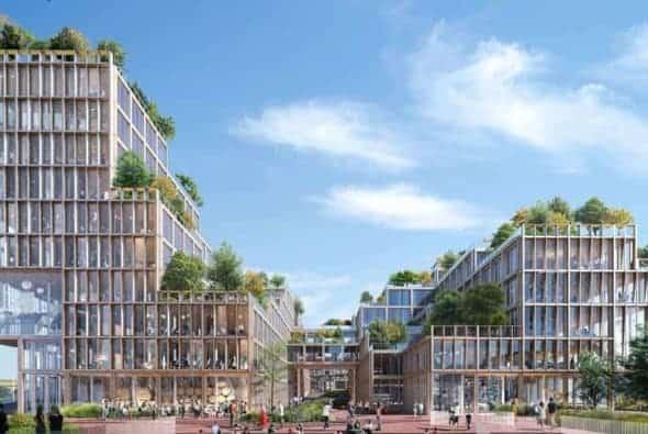 Henning Larsen reveals their design for Wolfsburg Connect