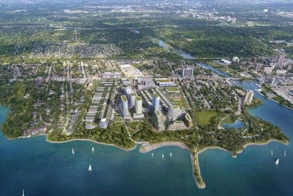 Brightwater - From oil refinery to an eco-friendly community on Lake Ontario