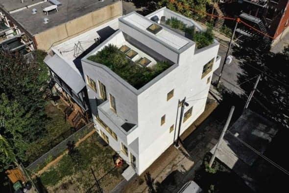 NMBHD, Montreal Triplex by Studio Jean Verville architectes