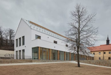 Extension of the Catholic Gymnasium in Třebíč
