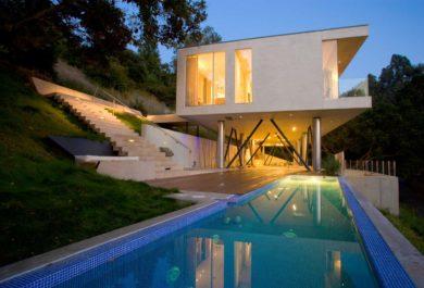 Oak Pass Residence Addition by Heusch Inc