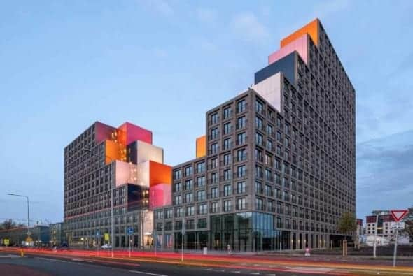 OurDomain Student Housing, Amsterdam by OZ Architect
