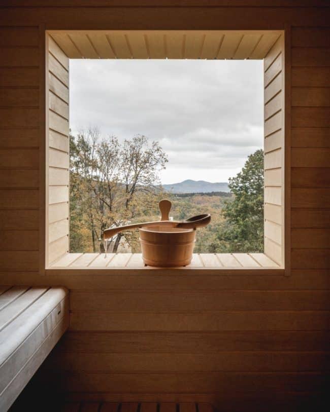 Fjell hytte - private sauna