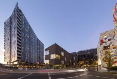 Sideyard, a mass timber, urban infill project by Skylab