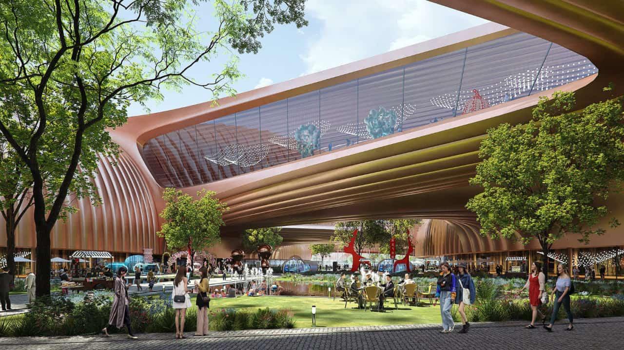 Zaha Hadid Architects to design Phase II of Beijing's International Exhibition Centre