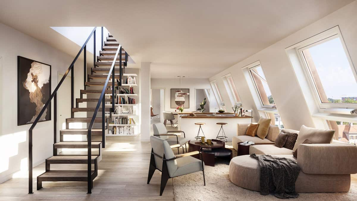 Penthouse - Interior View