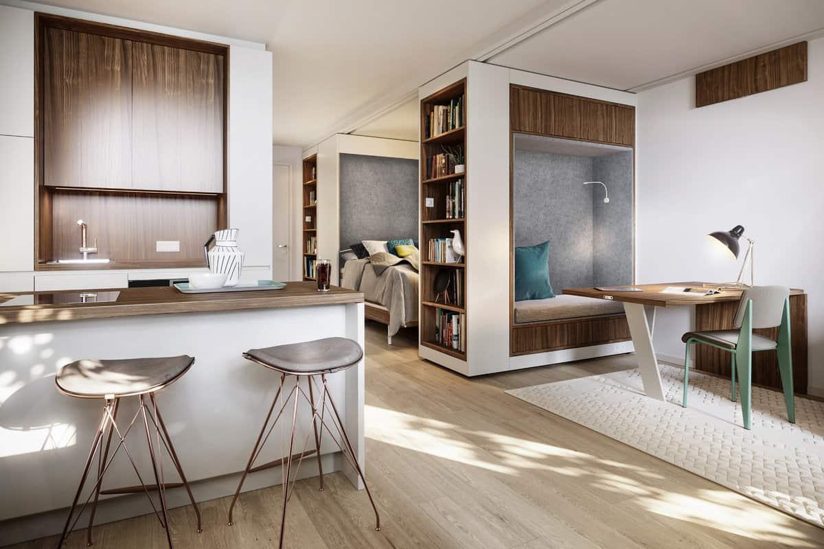 Van B Housing Project by UNStudio
