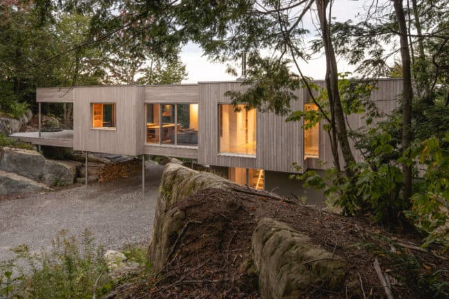 Forest House I by Natalie Dionne Architecture