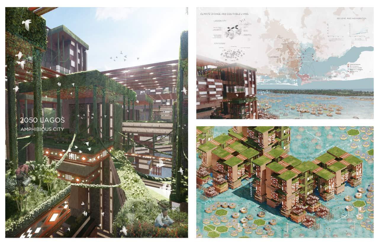 2050 Lagos Amphibious City, CITIES FOR ALL winner