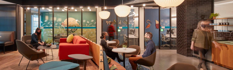 LinkedIn Chicago, designed by Gensler