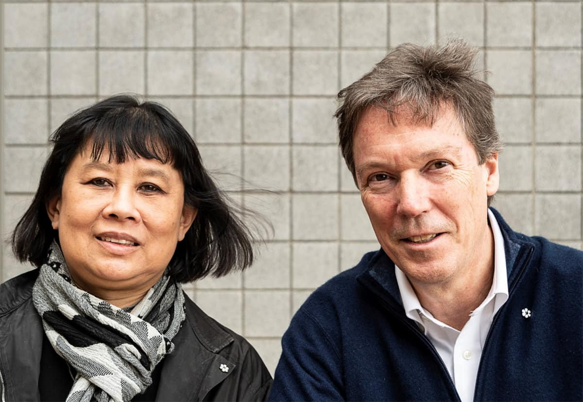 Architects Brigitte Shim and A. Howard Sutcliffe
