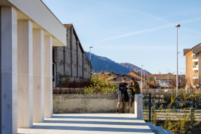 Extension and conversion of a former machining factory in France