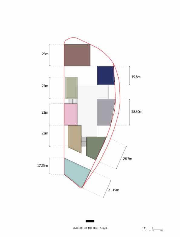 Ground Floor Plan Scale Diagram