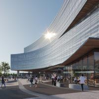 Snøhetta Designs Ford's New Central Campus Building in Dearborn