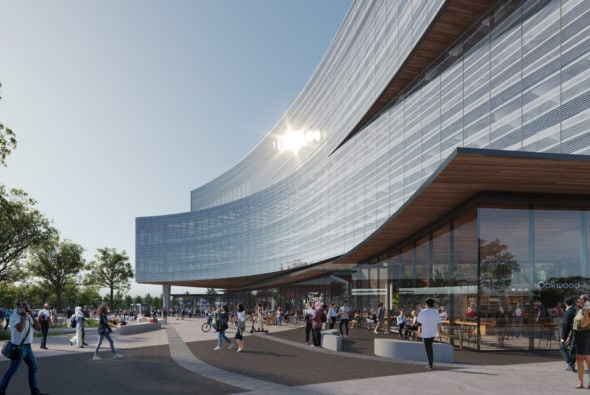 Snøhetta Designs Ford's New Central Campus Building in Dearborn