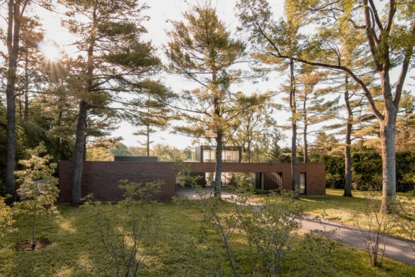 Residence de l'Isle - Revisiting the domestic architecture of the 1950's