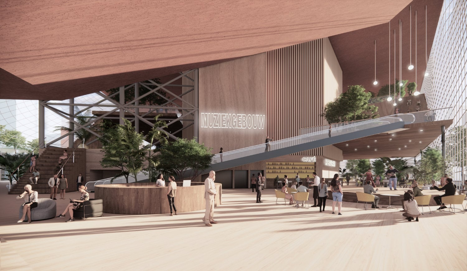MVRDV to transform Eindhoven shopping centre into sustainable cultural quarter