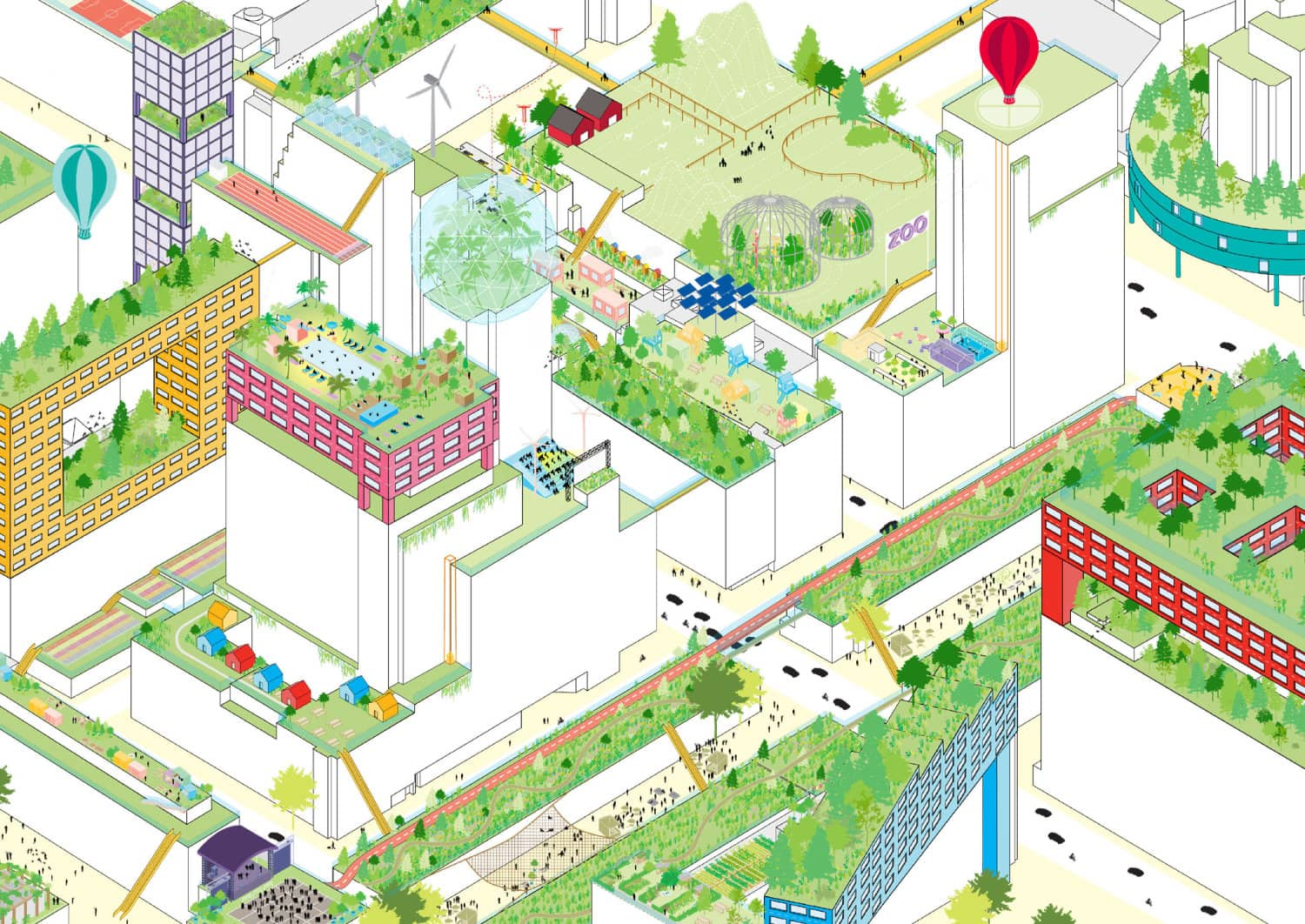 The Rooftop Catalogue offers an inspiring overview of no less than 130 different possibilities