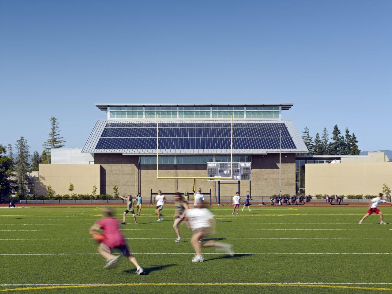 Sequoia High School Gymnasium & Campus Entrance