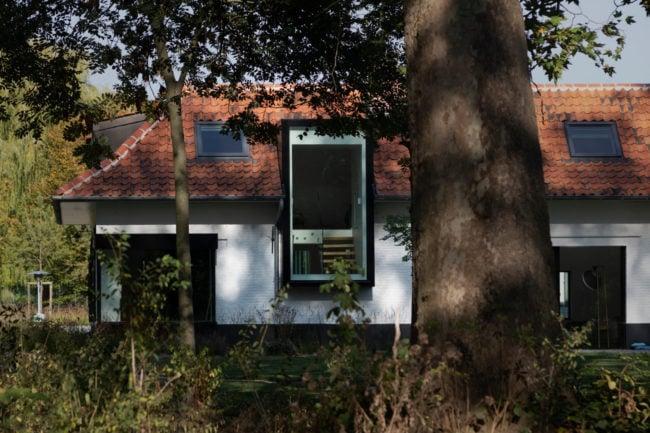 Old farmhouse with new skylight