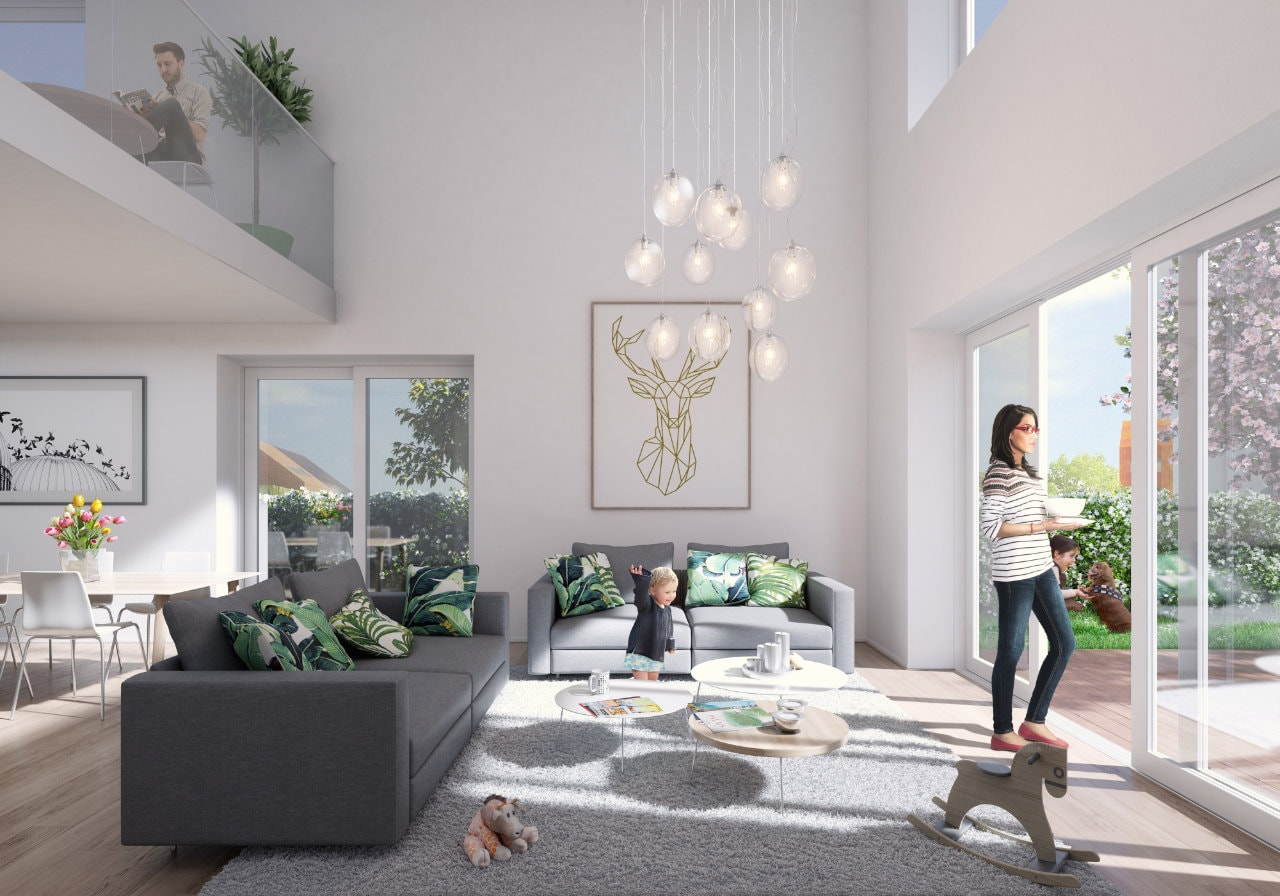 The catalogue of designs offers residents a choice of materials, sizes, interior layouts, and connections to the outside
