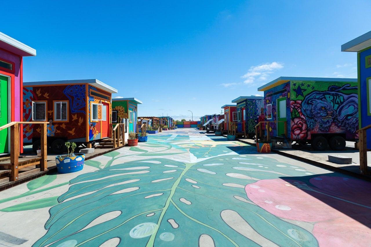 YSA, Tiny Home Empowerment Village, California (USF and Prof. Seth Wachtel)