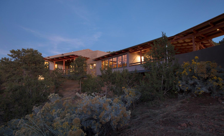Canyon Road Bridge House, New Mexico (Arkin Tilt)