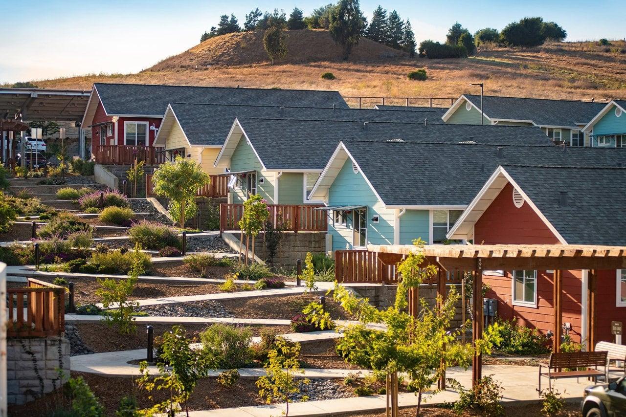 Valley View Senior Homes, California (The Cohousing Company)