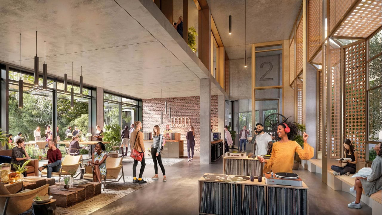 Designs for a sustainable, mixed-use masterplan for La Fabrica in Chile revealed