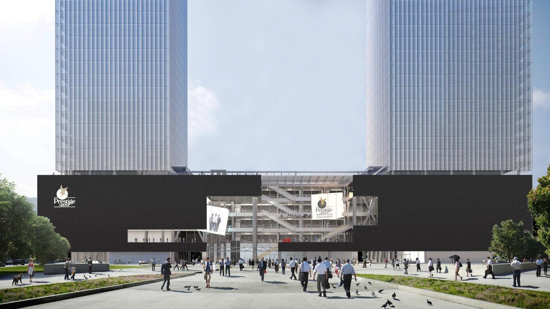 OMA / Iyad Alsaka's Prestige Liberty Towers Mumbai Breaks Ground
